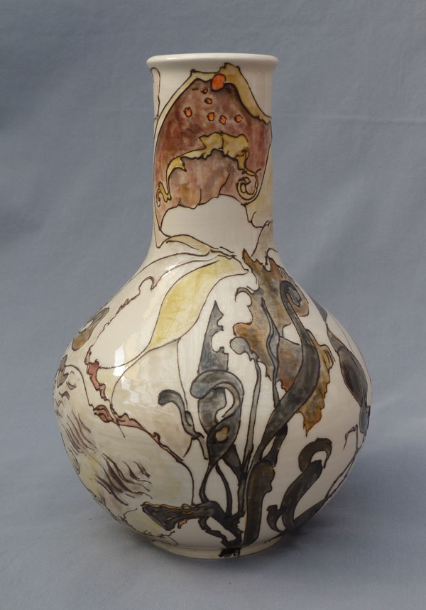 Vase with seaweed, Sold